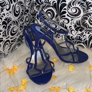 Blue Strappy WHBM Heels